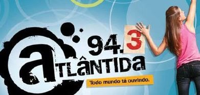 RÁDIO ATLÂNTIDA AO VIVO PORTO ALEGRE FM 94,3